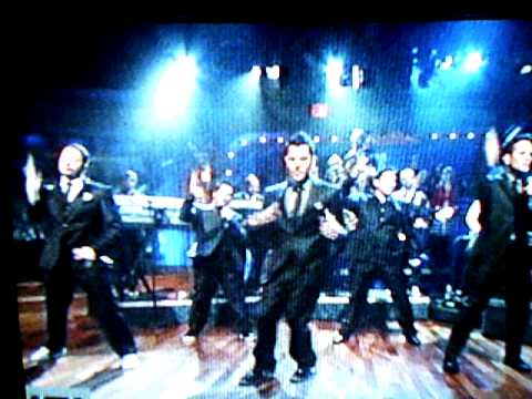 February 2nd 2010 -- NKOTB on the Jimmy Fallon show doing a medley of 5 songs