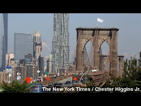 Officials, Media Baffled By White Flags Atop Brooklyn Bridge