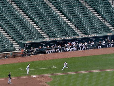 Camden Yards Empty As Orioles Face White Sox