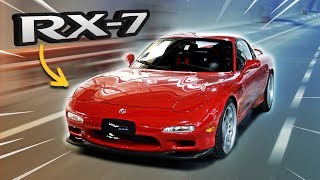 Crazy drive with Mazda RX-7 on streets!