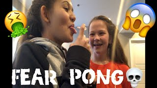 FEAR PONG/ Lauren & Alisia