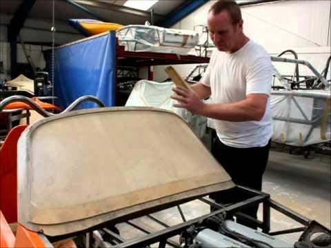 Rob Hawkins from Kit Car magazine interviews car designer Stuart Mills