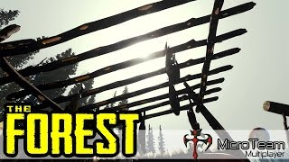 The Forest Multiplayer Co-Op - Part 1 ft.Guscleven #เริ่มชีวิตใหม่ในดงป่าเถื่อน ►MicroTeam◄