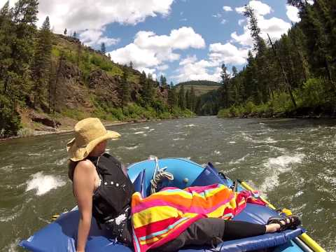 Grande Ronde June 2012.  Family Float video