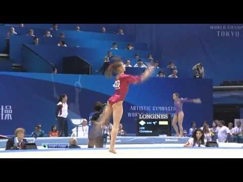 Виктория Комова. ЧМ-Япония 2011. Спортгим-ка. Многоборье.
