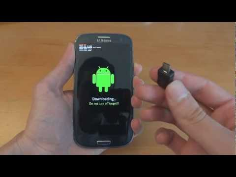 Using a USB JIG on a Samsung Galaxy S III - GT-I9300 - By TotallydubbedHD