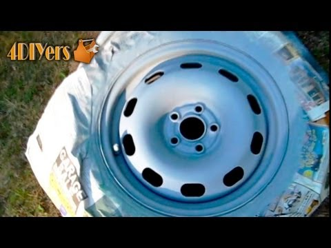 DIY: Refinishing Steel Rims
