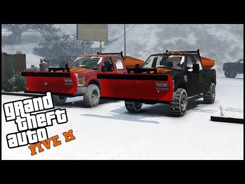 GTA 5 ROLEPLAY - PLOWING THE ROADS - EP. 557 - CIV