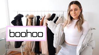 BOOHOO TRY ON CLOTHING HAUL! FALL & WINTER 2018