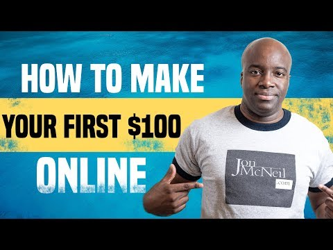 HOW TO MAKE YOUR FIRST $100 WITH CLICKBANK