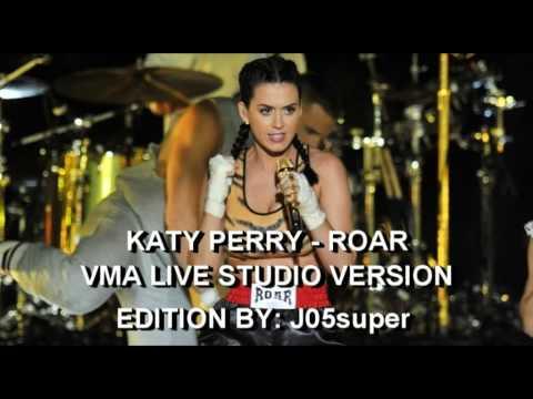 Roar - Katy Perry (VMA Live Studio Version)