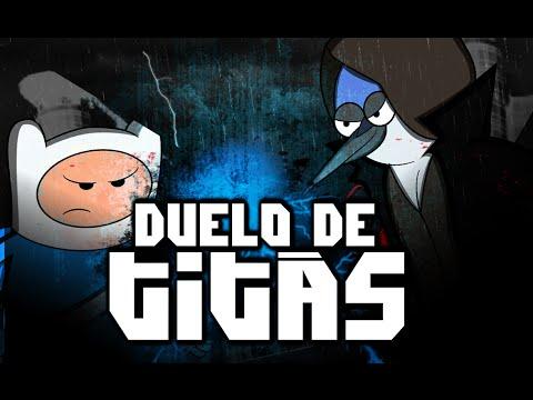 Finn VS. Mordecai   Duelo de Titãs