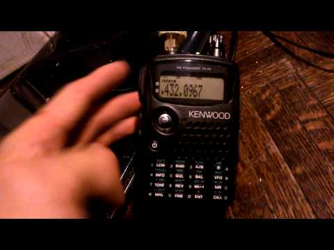 K1TEO CQ CONTEST 432 spring sprint kenwood th-f6a