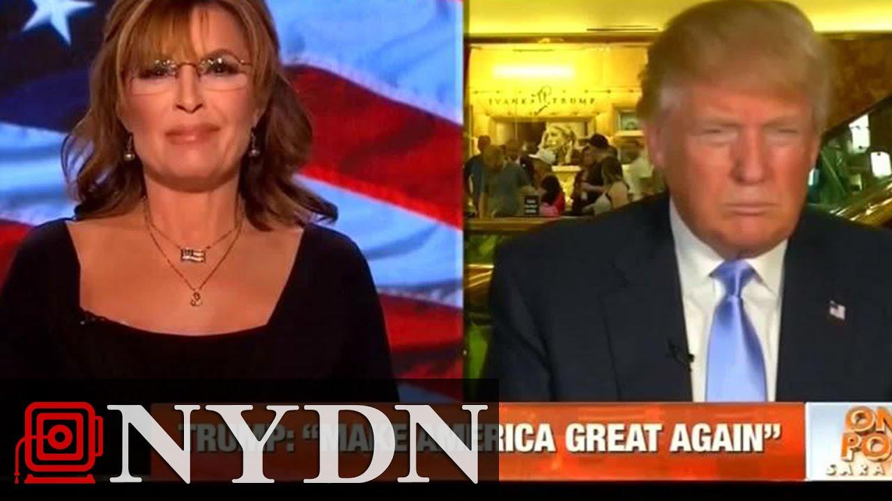 Sarah Palin Interviews Donald Trump, Does Nothing but Praise Him