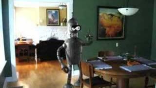 Thumb Futurama: Si Bender fuera humano y Promo de Bender en 3D