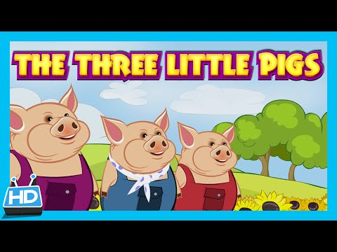 The Three Little Pigs And The Big Bad Wolf | Kids Short Story video
