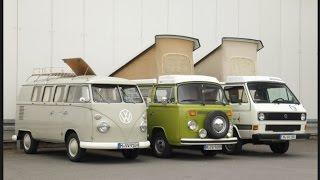 VW T1, T2, T3. Немного истории и интересных фактов.