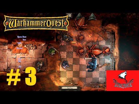 Warhammer Quest Unser Barbar ist Level 2 Gameplay Deutsch # 3