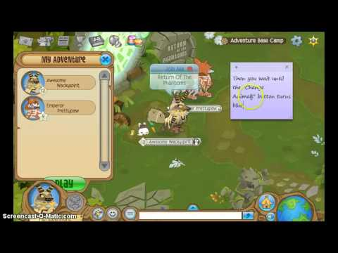 Eagles In Adventure Glitch Animal Jam