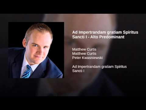 Ad Impertrandam gratiam Spiritus Sancti I - Alto Predominant