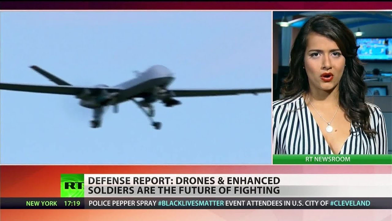 Drones and super-soldiers: Tech, science giants predict the future of warfare