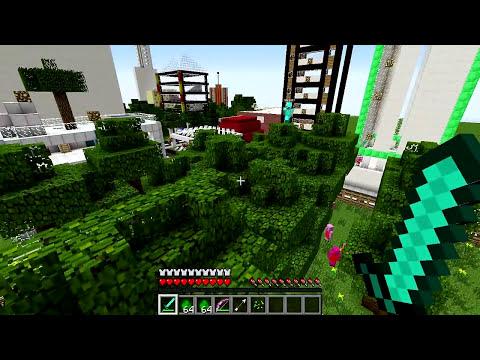 Minecraft Mods - MORPH HIDE AND SEEK - PEPPA PIG MOD!