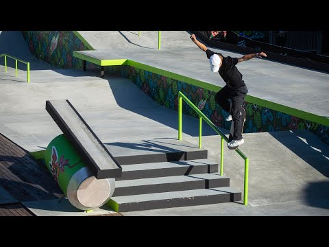Men's Street Open Qualifier Highlight Video | 2019 Dew Tour Long Beach