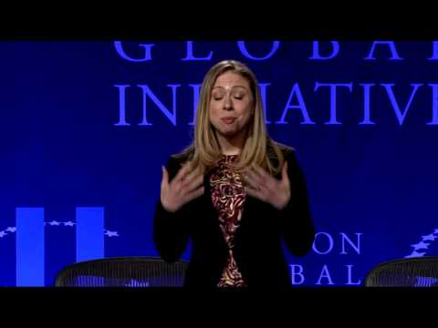 Chelsea Clinton Welcomes Students to CGI U 2013