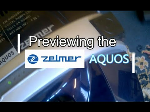Demo Zelmer Aquos 829.0 ST water filtration system vacuum cleaner RECOMMENDED