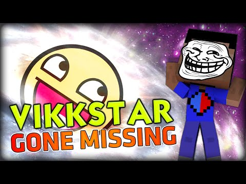 VIKKSTAR GONE MISSING, INTERNET TROLL (Minecraft Slime Jumpz #1)