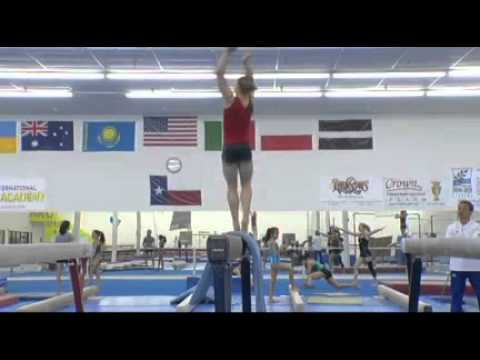 Rebecca Bross Olympic Training