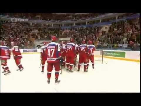 Россия - Чехия 6-0 █ Кубок Первого канала 2012 █ Евротур