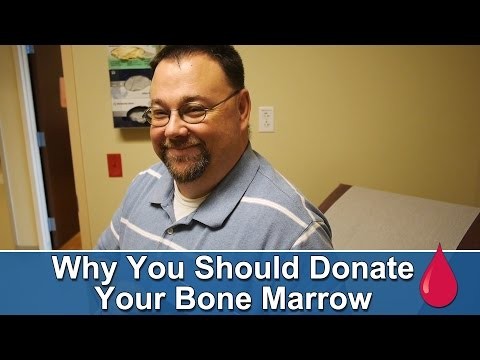 Sean Hudson donates his bone marrow