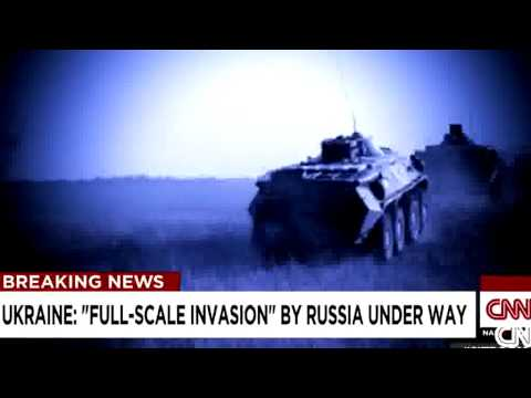 Ukraine Crisis Russia : Full scale invasion by Russia under way | RAW FOOTAGE