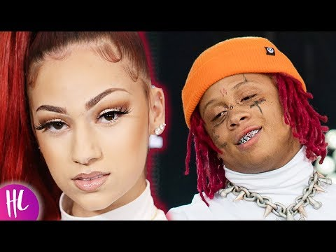 Bhad Bhabie Reveals Why Trippie Redd Is Just Like Tekashi 6ix9ine | Hollywoodlife thumbnail