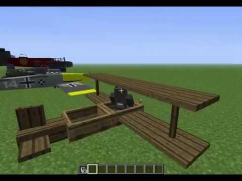 Minecraft mod ปืน และ mod วิ่ง 1. 2. 5