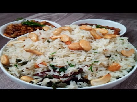 జీరా రైస్ || How To Make Perfect Jeera Rice || Cumin seeds Rice  || Flavoured Rice || Crazy Recipes