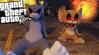 GTA 5 Mods - EVIL TOM AND JERRY MOD (GTA 5 Mods Gameplay)