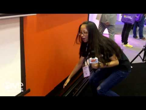 InfoComm 2015: XIANRUI Presents Fixed Floor-Screen for Projection