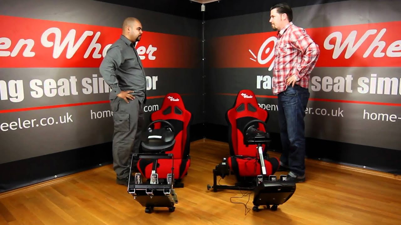 Gaming Chair For Ps3 Driving Seats: the Open Wheeler Gaming Chair - YouTube