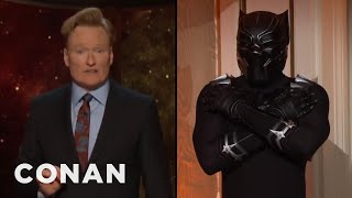 Black Panther's Inner Thoughts  - CONAN on TBS