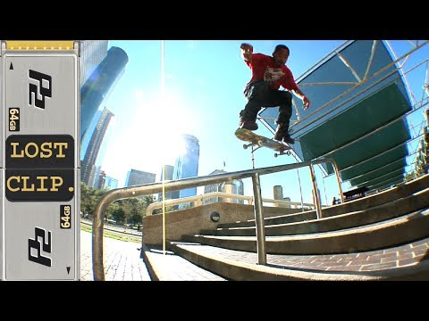 Manny Santiago Lost & Found Skateboarding Clip #170
