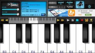 Amar sonar bangla    (Bangladeshi anthem)    mobile piano