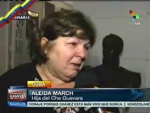 Hija del Che Guevara habla sobre Chávez
