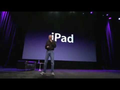 Apple iPad: Steve Jobs Keynote Jan 27 2010 Part 4