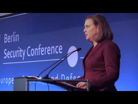 Victoria Nuland Speaking at the Berlin Security Conference, November 17, 2015