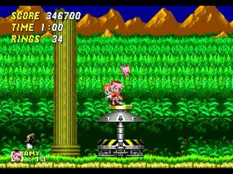 Sonic The Hedgehog 2: Pink Edition (genesis) - Longplay video