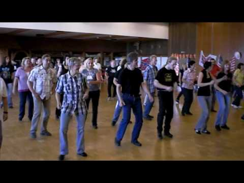 Cupid Shuffle - Line Dance video