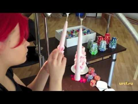 Как сделать фигурную свечу в домашних условиях своими руками