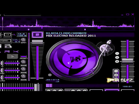 Skin blue para virtual dj pro By DarkBlez